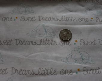 21 Sweet Dreams Dumbo cotton fabric 21