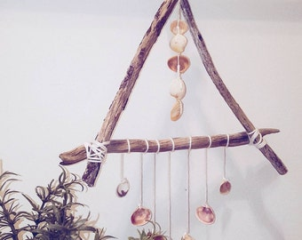 Triangle Shell Wall Hanging