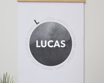 Print - Personalised Circle Names