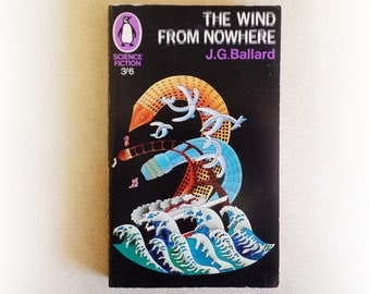 JG Ballard - The Wind From Nowhere - Penguin science fiction vintage paperback book - 1967