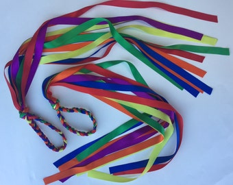 Rainbow Streamers-6 Pairs