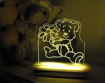 Sunny the Teddy Bear Night Light