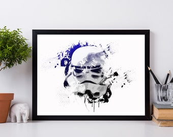 Storm Trooper - Star Wars - Poster - Print