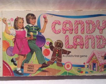 1978 Candy Land Game by Milton Bradley FREE SHIPPING