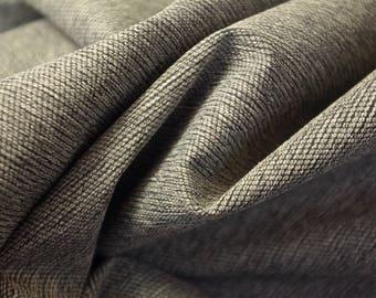 Pebble Grey Heavy Mottled Fabric