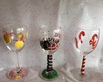 Christmas Glasses for the holidays