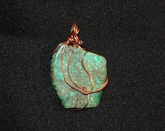 Jasmine Wire Wrapped Pendant