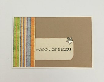 Handmade Card - Happy Birthday (HB12)