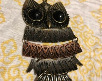 Large Owl Necklace