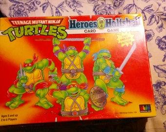 International Games Mirage Studios - TMNT Heroes in a Half Shell Card Game.vintage teenage mutant ninja turtles 1990