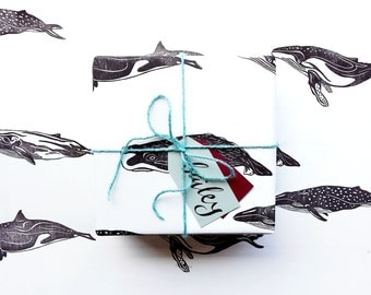 Wrapping Paper - Marine Animals