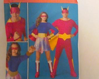 Simplicity Pattern 2565 Uncut  Super hero Costume