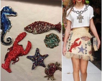 Sea set Dolce&Gabbana style