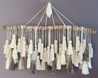 Headboard Tassel Wall Hanging