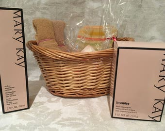 Homemade Guest Soap and Mary Kay Gift Set