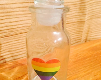 Pride stash jar