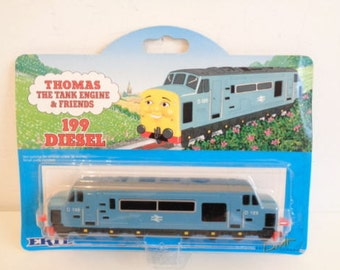 "ERTL 1995 Thomas the Tank Engine ""199 DIESEL"" - Card No. 38 - Mint on Card"