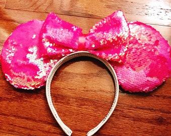 Neon Pink Prototype ears