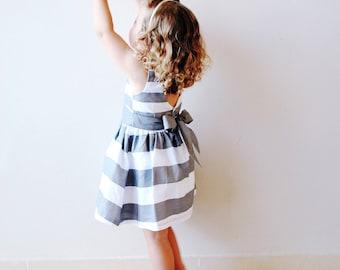 Girl's Stripy Dress