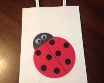 Ladybug Party Favor Bags