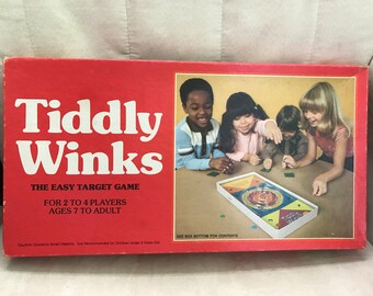 Vintage Tiddly Winks Game from 1981
