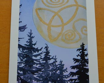 Trinity Knot Moon