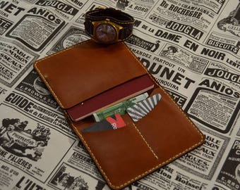 purse for money and passport cards
