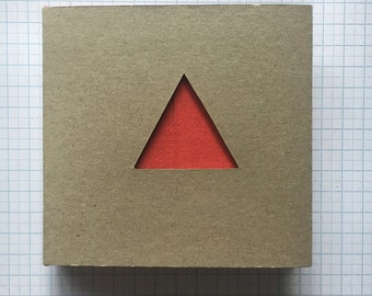 Red triangle notebook