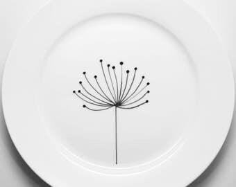 Dandelion Dinner Plate