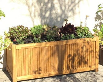 18130 - Rectangular Planter 4ft - LINER NOT INCLUDED