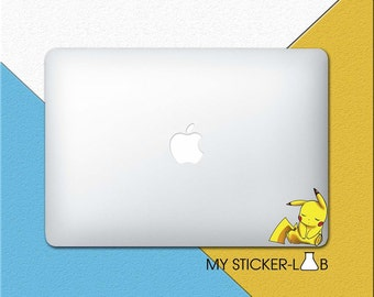 Pokemon Pikachu MacBook Decal Pokemon Pikachu MacBook Sticker Pokemon Stickers Pokemon MacBook Decal Vinyl Pikachu Sleeping Skin bn081