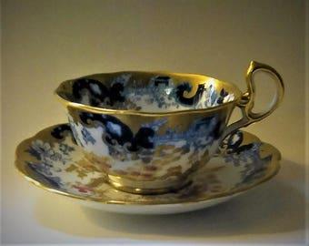 Royal Albert Asian Motif Teacup and Saucer