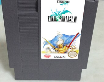 Final Fantasy 3 - NES Game English