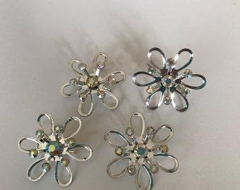 4 pin brooch set