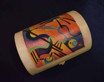 Wooden box Kandinsky