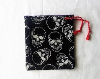 Skulls Dice bag/pouch