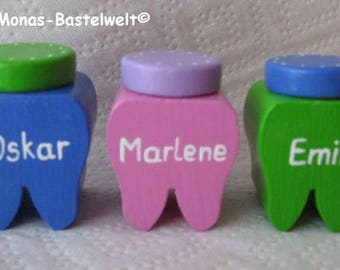 Milk tooth box