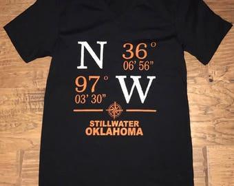 Stillwater coordinates tshirt