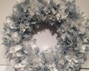 Duck egg wreath