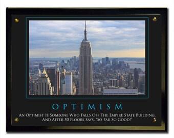 Optimism (Empire) Plaque