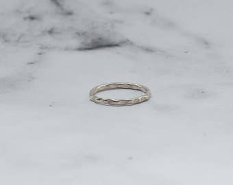 Sterling Silver Freckled Ring