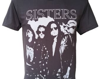 SISTERS Rock Black Tshirt Q-173