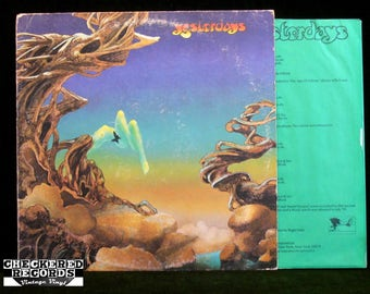 YES Yesterdays VG Vintage Vinyl LP Record Album