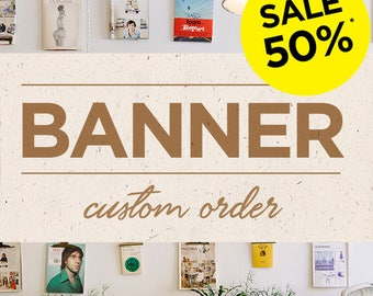 Custom Banner - Graphic Design Services