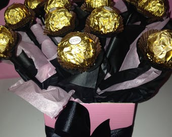 Chocolate Ferrero Rocher Bouquet - Small