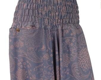 Harem pants; Aladdin-grey/lilac
