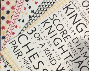 Stampin Up Designer Series Paper Jack Pot