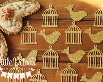 Bird Cage confetti, Bird Table Confetti, Baby Shower/Wedding, Garden Parties