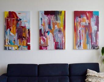Custom Abstract Canvas Art