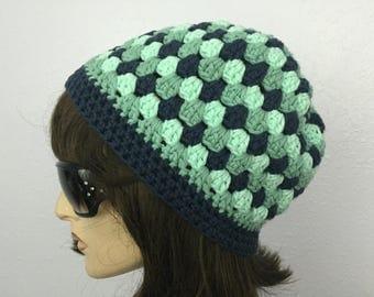 Womens Summer Crochet Hat Womens Summer Beanie in Three color Women Spring Hat Summer Fashion